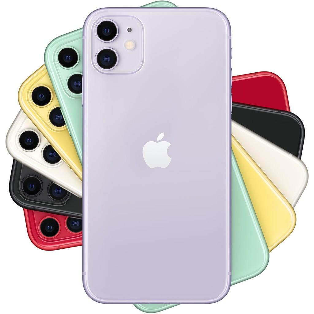 Apple iPhone 11 128GB 6.1吋 白/黑/紅/黃/紫/綠