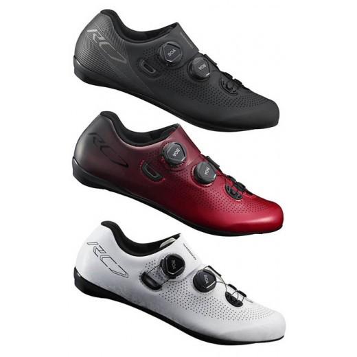 單車森林~SHIMANO 現貨 SH-RC701 紅色RED 黑色BLACK 白色WHITE公路車卡鞋 RC701公路鞋