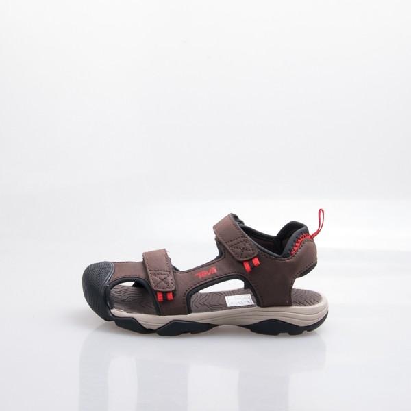 TEVA 兒童 Toachi 4 多功能 護趾 中童涼鞋-咖 110427CCBKR