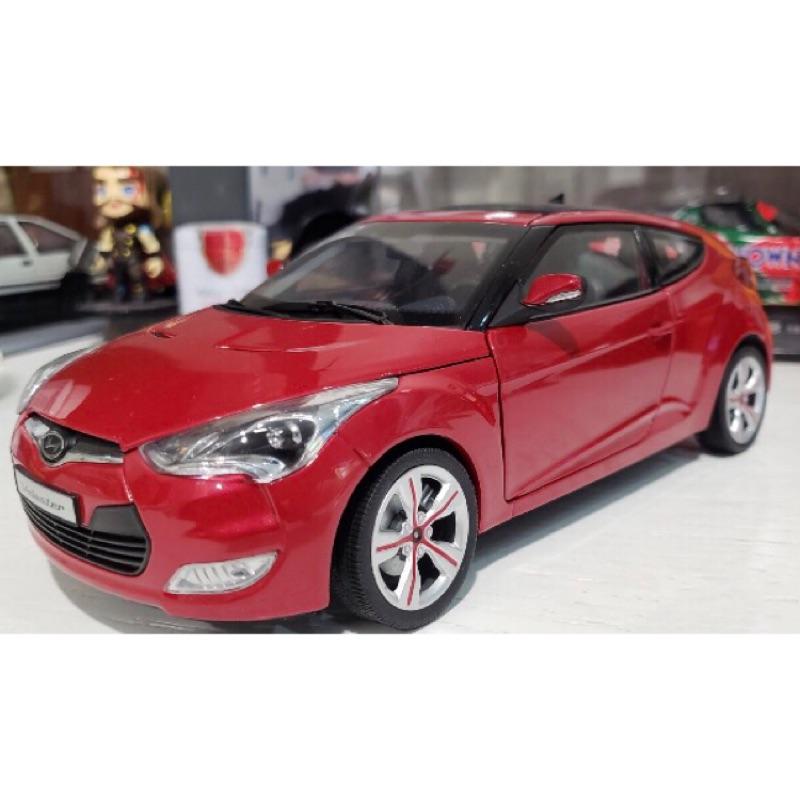 🙋🏻♂️BuyCar模型車庫 1:18 Hyundai Veloster模型車