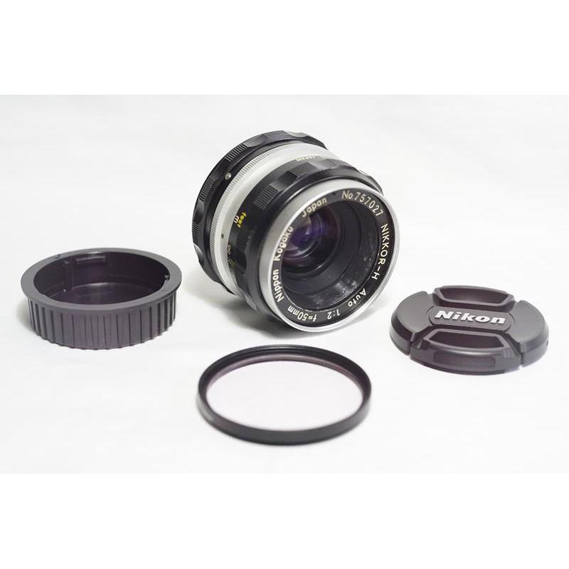 最佳標準鏡 Nikon NIKKOR-H Auto 50mm F2