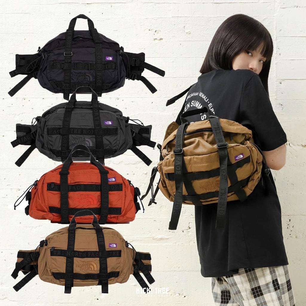 KS▸紫標 THE NORTH FACE Cordura Waist Bag 側背包 大腰包 日本限定【NN7909N】