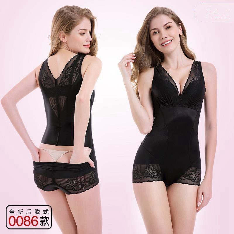 美人計塑身衣后脫式產后美體塑身燃脂瘦身衣收腹束腰連體束身衣