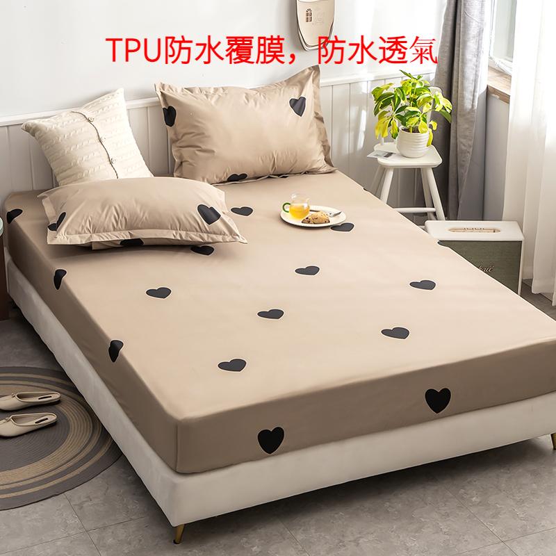 防水床包 保潔墊 防水墊 100%防水床包  床罩 吸濕排汗處 單人/雙人/加大床包 防水隔尿 防菌除螨 TPU防水專利