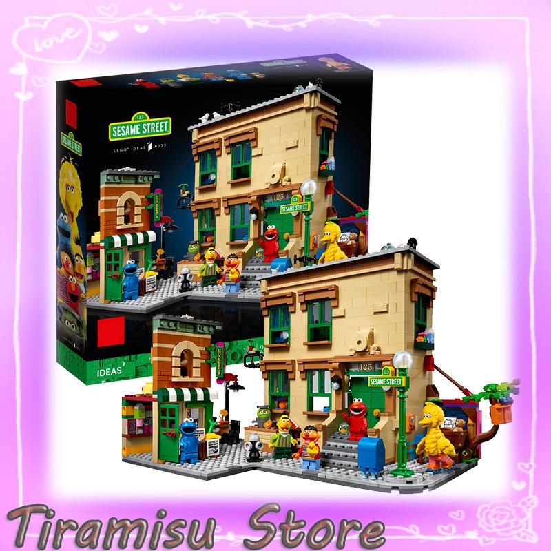 Lego 21324 芝麻街 123 Sesame street