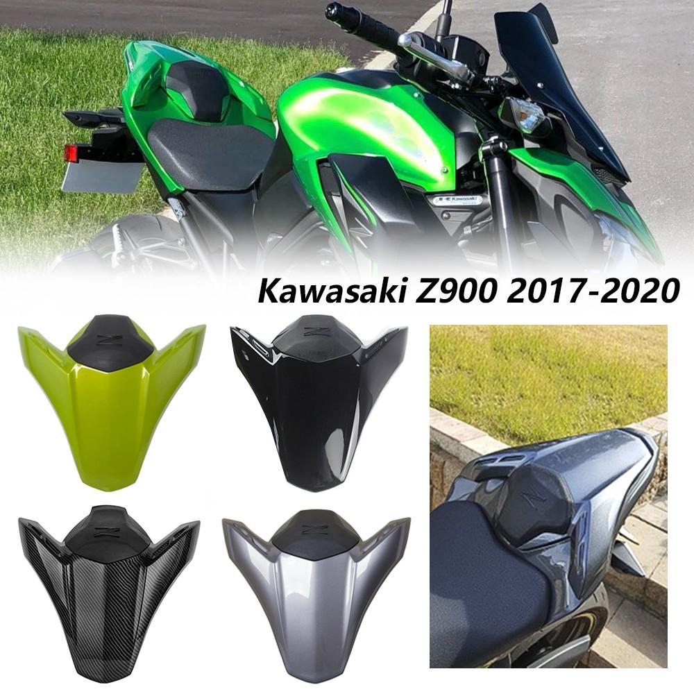 適用于川崎Z900 z900 新款带Z符号  2017-2020年  改裝後尾蓋駝峰 單座蓋 後座蓋 椅墊 坐墊