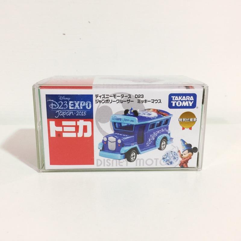 Tomica 魔法米奇 D23 EXPO 2015 日本限量車 已絕版 迪士尼 多美 小車