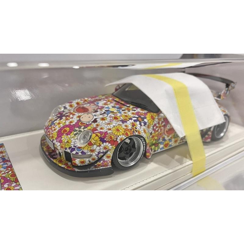 VIP scale model 1/18模型車 Porsche 993 RWB 太陽花 村上 現貨