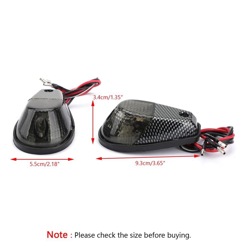 Honda Suzuki Kawasaki Yamaha車系通用 燻黑 造型方向燈《極限超快感》
