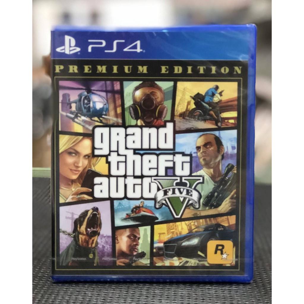 全新 PS4 GTA5 俠盜獵車手5 GTA 5 中文版 豪華版【台中艾達電玩】