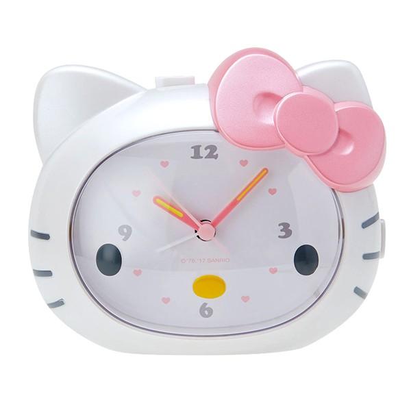 Hello Kitty大臉造型會說話的鬧鐘/時鐘/指針時鐘/貨到付款/現貨/禮物
