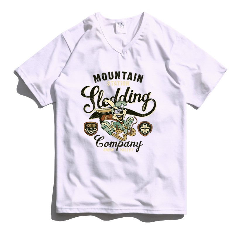 ONE DAY 台灣製 161C13 素V領素T 寬鬆衣服 短袖衣服 衣服 T恤 短T 素T 寬鬆短袖 短袖T恤