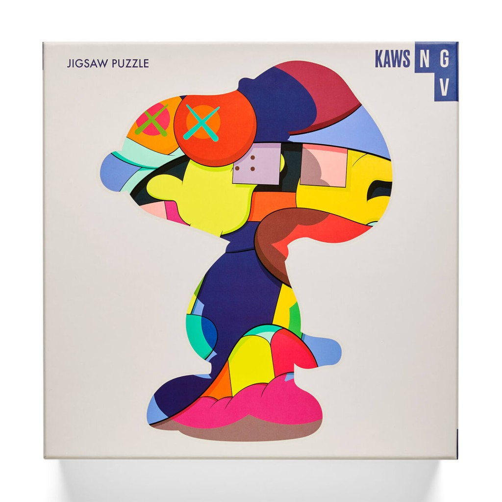 KAWS NGV PUZZLE No One's Home 史努比拼圖