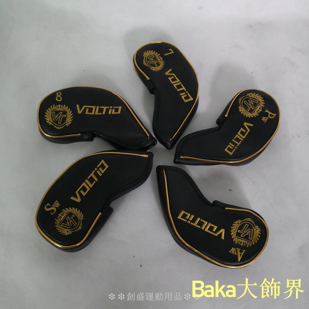 Baka大飾界KATANA高爾夫桿套 球桿保護套 鐵桿組帽套 球桿套
