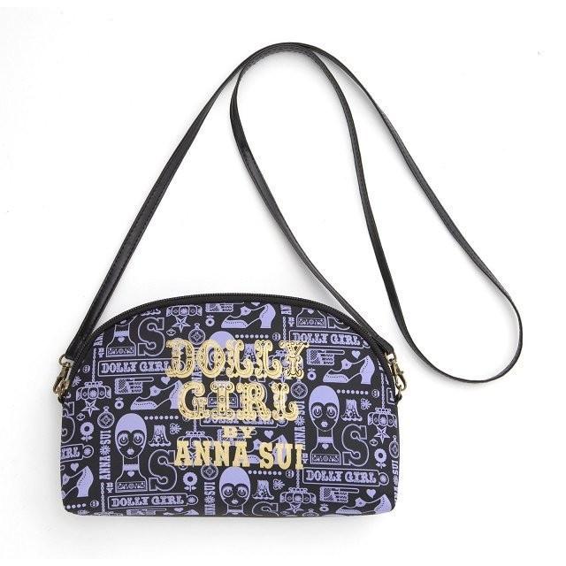 ☆Juicy☆日本mook雜誌附錄 ANNA SUI 20週年 小物包 側背包 肩背包 斜背包 化妝包 手拿包 2299