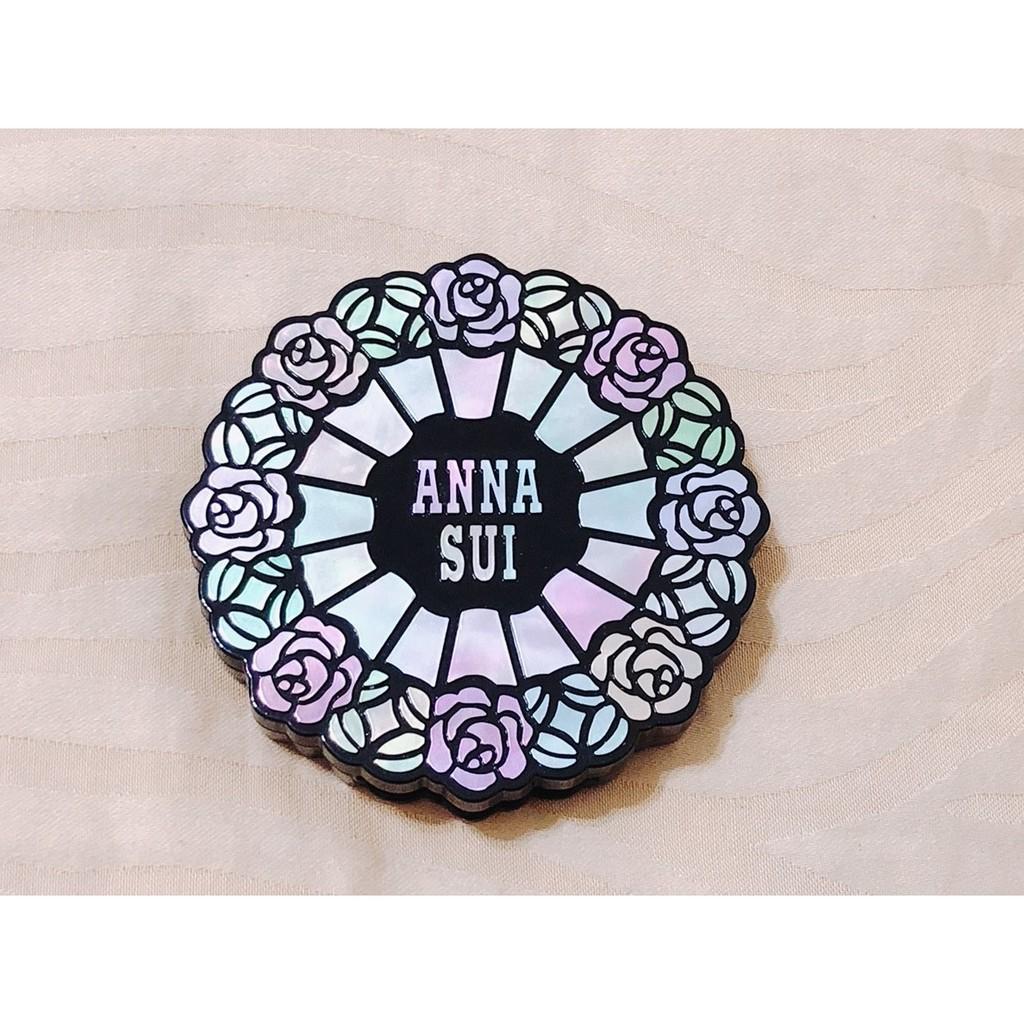 美國帶回 正品 Anna Sui 安娜蘇 魔影幻鏡雙色眼彩 Eye Color Duo 色號07 金色 黑色 眼影