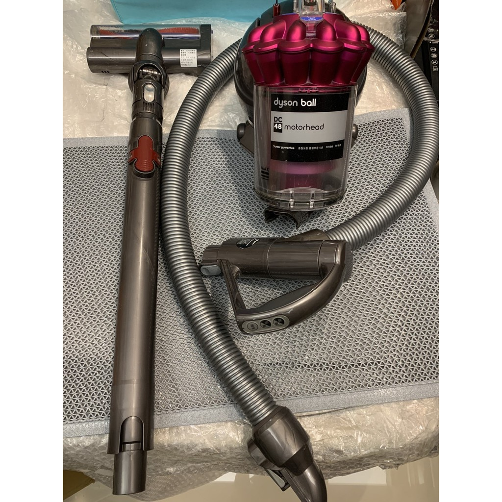 ☆~傑克烘焙網~☆戴森Dyson DC48 motorhead 有線吸塵器 圓筒式吸塵器 桃紅色
