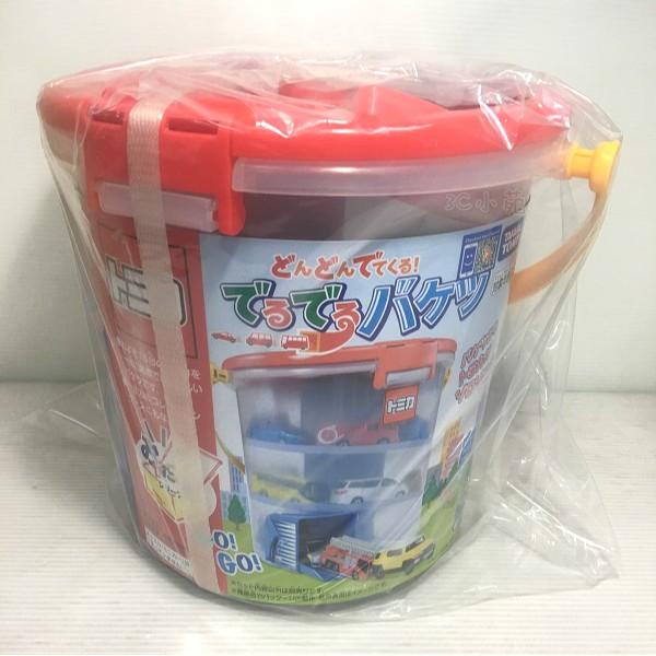 【3C小苑】TW45781 正版 日本 TOMICA TM滑行收納桶 交通世界 滑行軌道 小汽車收納 收藏 多美小汽車
