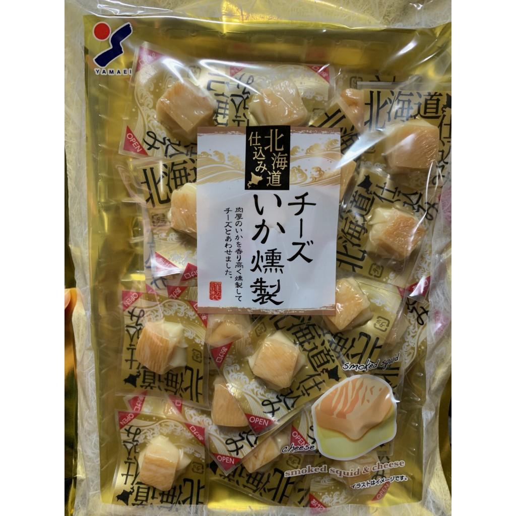 YAMAEI 山榮 北海道 一口起司煙燻魷魚120g