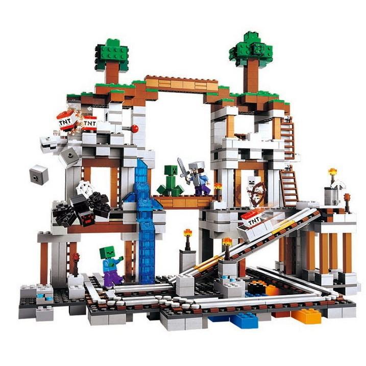 小頑童 LEGO樂高式  博樂 10179 世界 礦井 礦場 特價! 現貨!