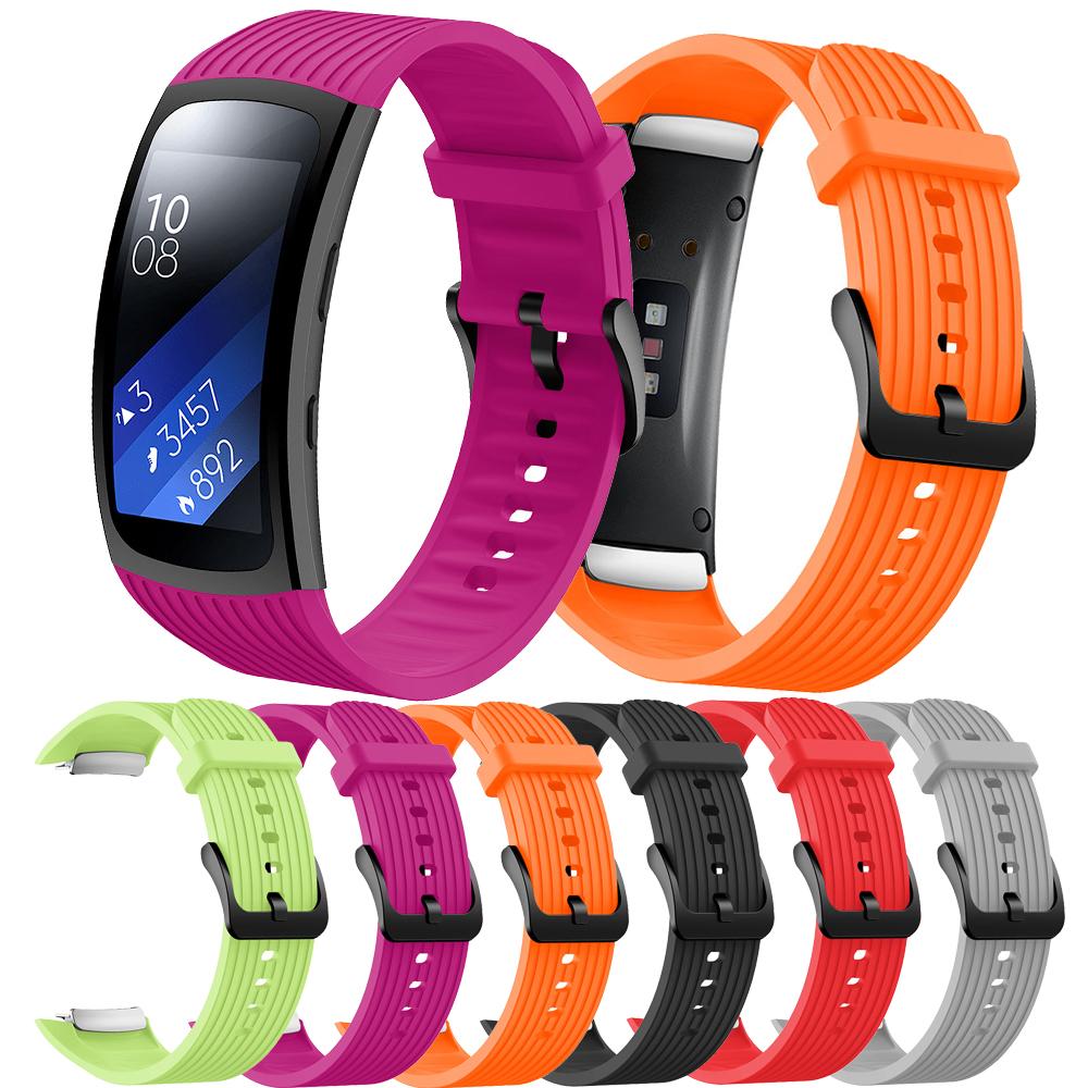 三星Samsung Galaxy Gear Fit2 pro / Galaxy Gear Fit 2硅膠錶帶 運動錶帶