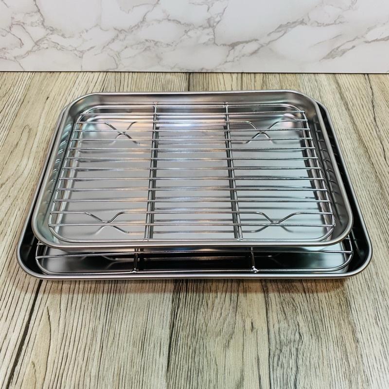 小海牛~現貨🔥Nerez 不鏽鋼調理盤*27/32/36cm 烤盤 瀝水盤 304