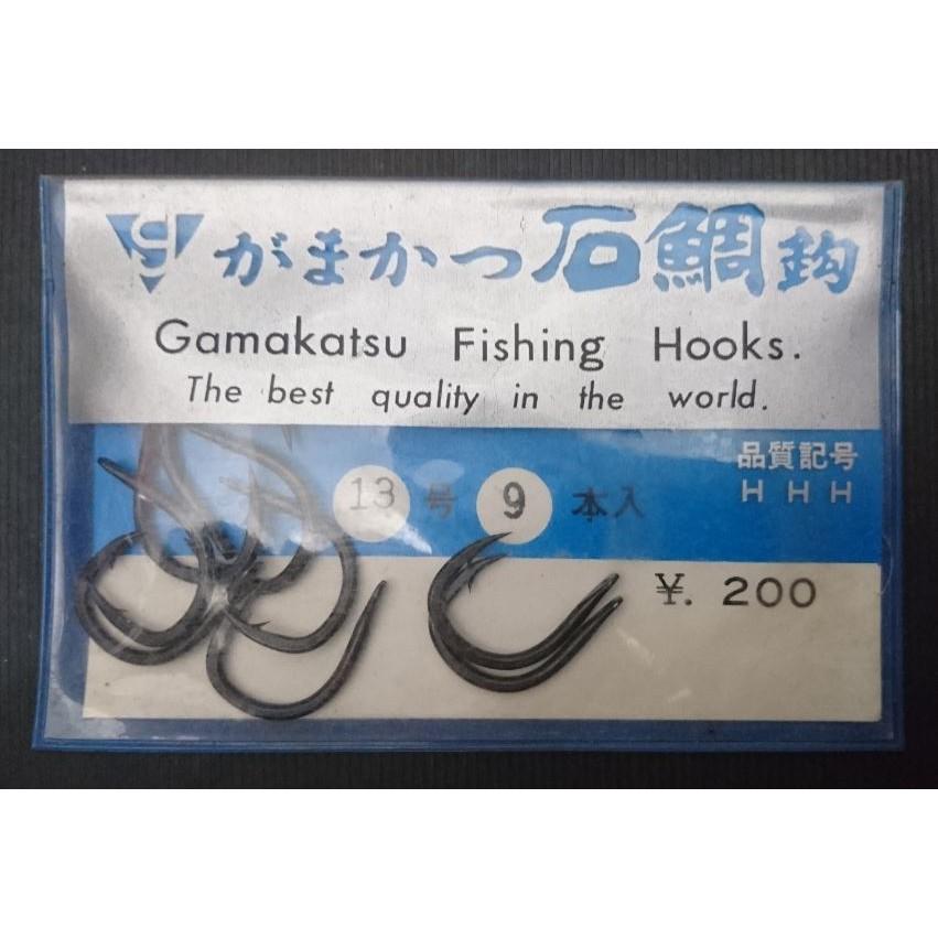 gamakatsu がまかつ 石鯛鉤 13号