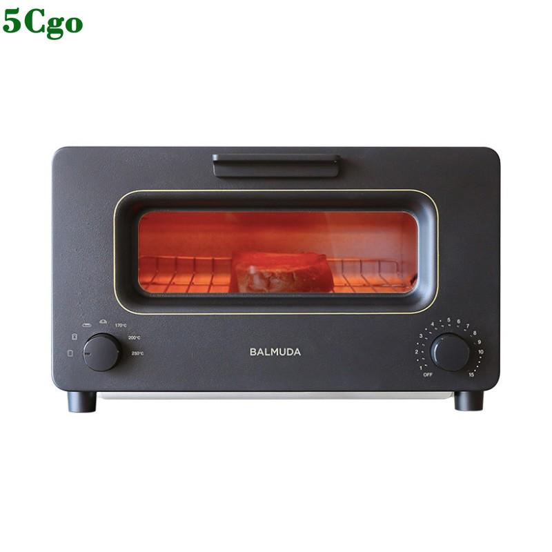 5Cgo【宅神】巴慕達K01H蒸汽電烤箱迷妳小型家用廚房烘焙多功能智能小烤箱智能溫控10L 565814652053