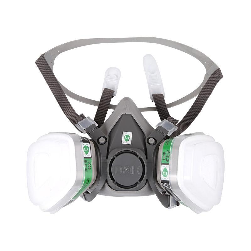 【現貨】7502配6006濾盒七件套 3M防毒面具防塵毒口罩 護目鏡7502防塵口罩噴漆專用防塵面具 濾毒口罩活性炭面罩
