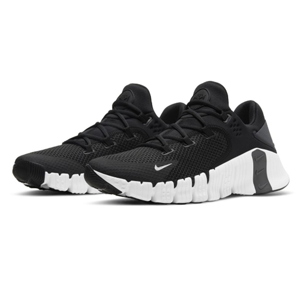 NIKE 耐吉2104男鞋 運動鞋 健身 重訓 支撐 NIKE FREE METCON 4 黑 CT3886010