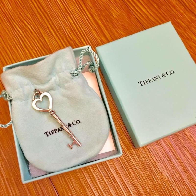 Tiffany 鑰匙頭項鍊墜