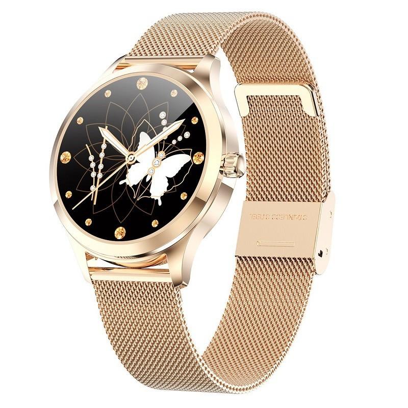 🔥現貨免運🔥 繁體中文 智慧手環 智能手環 LINE顯示FB來電提醒 不銹鋼機身表帶 監測女性期功能智慧手錶