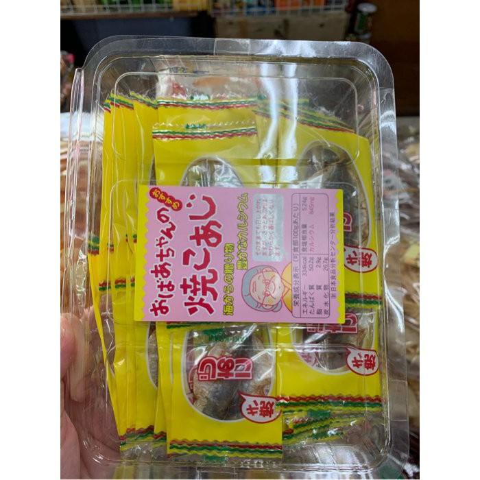 愛買JAPAN❤日本 一榮 烤竹莢魚 竹筴魚 30入 現貨