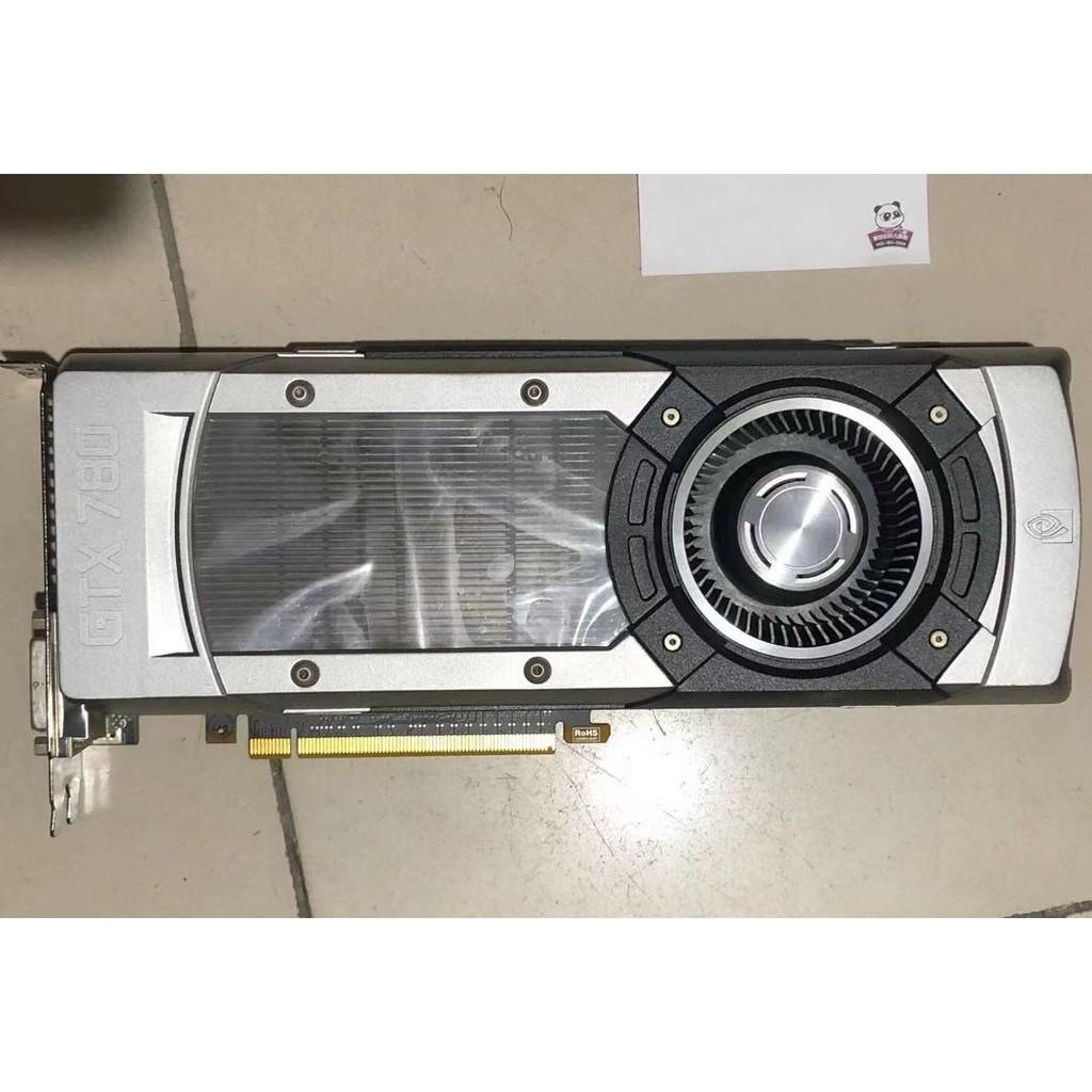 NVIDIA GeForce GTX 780 3gb公版顯示卡