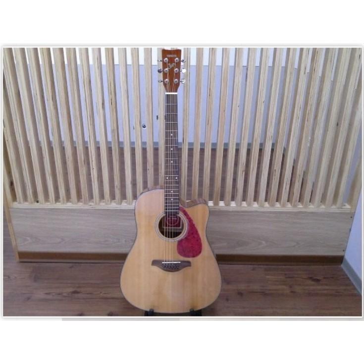 [好嬤嬤樂器] YAMAHA * 41寸 民謠 單板 FG-700 吉他 二手 九成新