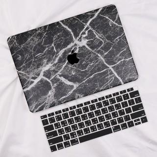 大理石紋路皮面保護殼 Apple MacBook Air Pro Retina 12 13 15 16 新款上市筆電殻
