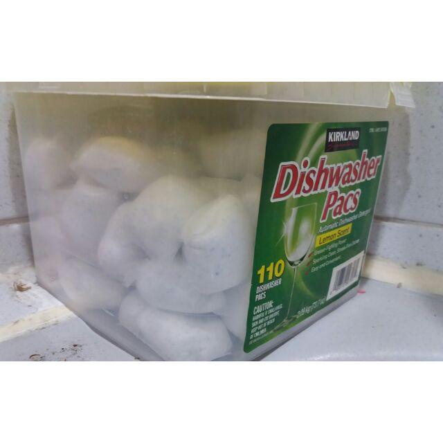 好市多科克蘭 洗碗機專用清潔錠洗碗錠COSTCO代購