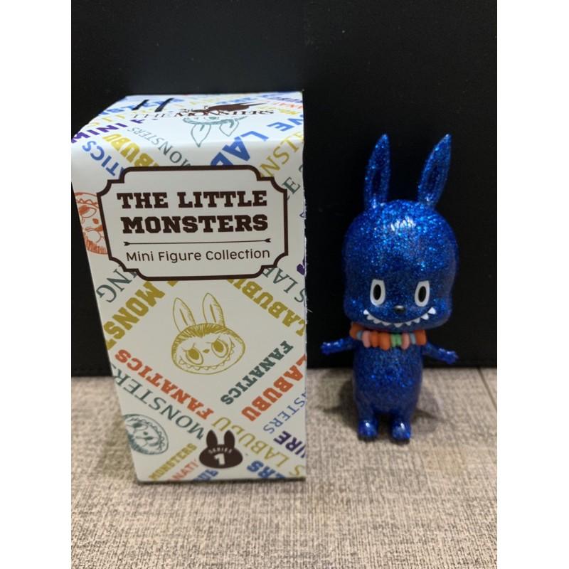 盲盒 labubu 拉布布 the little monster 藍蔥串珠