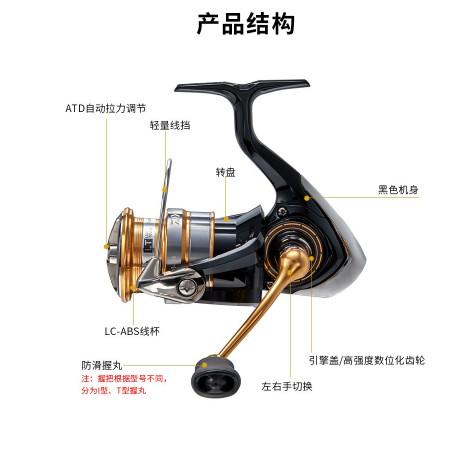 ❤現貨日本DAIWA CROSSFIRE LT捲線器 紡車輪 路亞 遠投 岸拋 輕量化 20新款1000-6000魚線輪