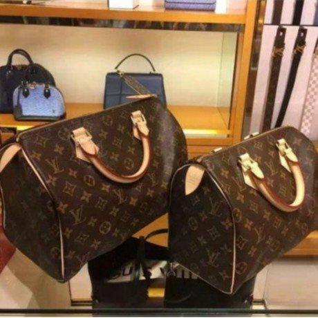 Louis Vuitton LV SPEEDY BANDOULIÈRE 25附背帶 手提包M41113 枕頭包