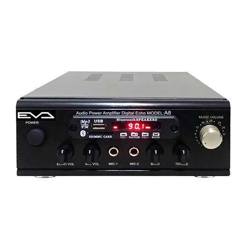 EVA 300W超大功率藍牙/USB/FM/MP3/卡拉OK迷你擴大機 A-8