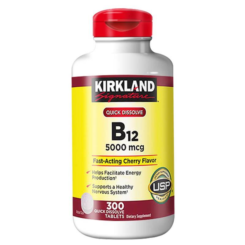 維他命 B12 Kirkland 柯克蘭 美國進口 5000mcg 成人 維生素B12 含服 300粒