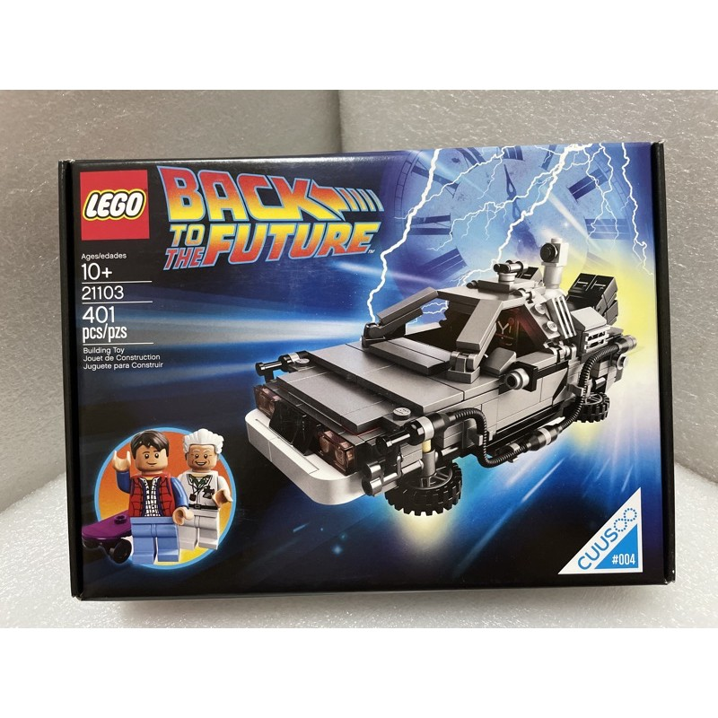 LEGO 樂高 21103 全新未拆 回到未來 BACK TO THE FUTURE