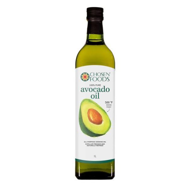 Chosen Foods 100%酪梨油 每瓶1公升 / Costco 酪梨油 / Costco代購 / #729324