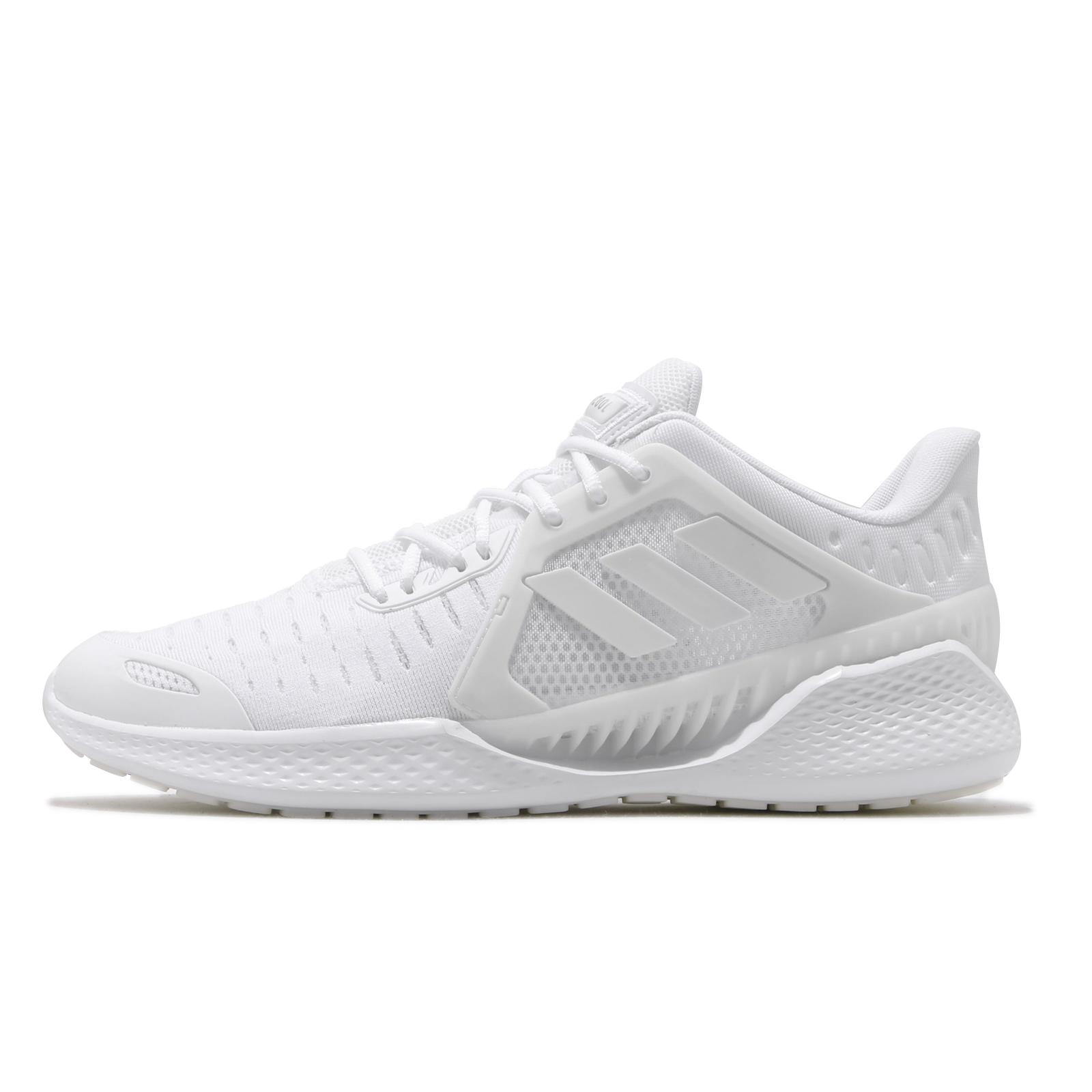 adidas 慢跑鞋 ClimaCool Vent Summer.Rdy 全白 透氣 男鞋【ACS】 EG1129