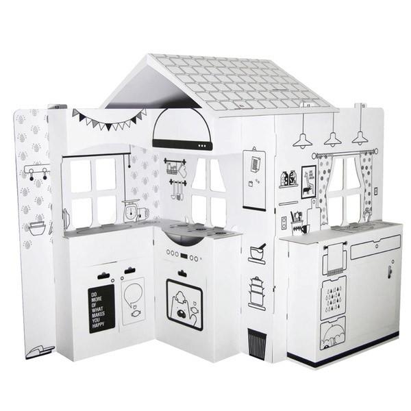韓國 ANBOX 趣玩紙屋 廚房我做煮【麗兒采家】