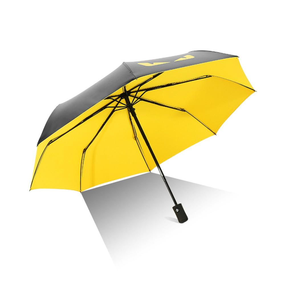 惡魔之眼自動摺疊兩用晴雨傘防紫外線/防曬/防風(4色可選)