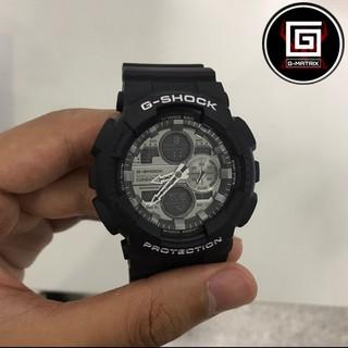 CASIO 卡西歐 G-SHOCK 運動 防水 防震 情侶 機械 電子 手錶 黑色 GA-140GM-1A1 桃園市