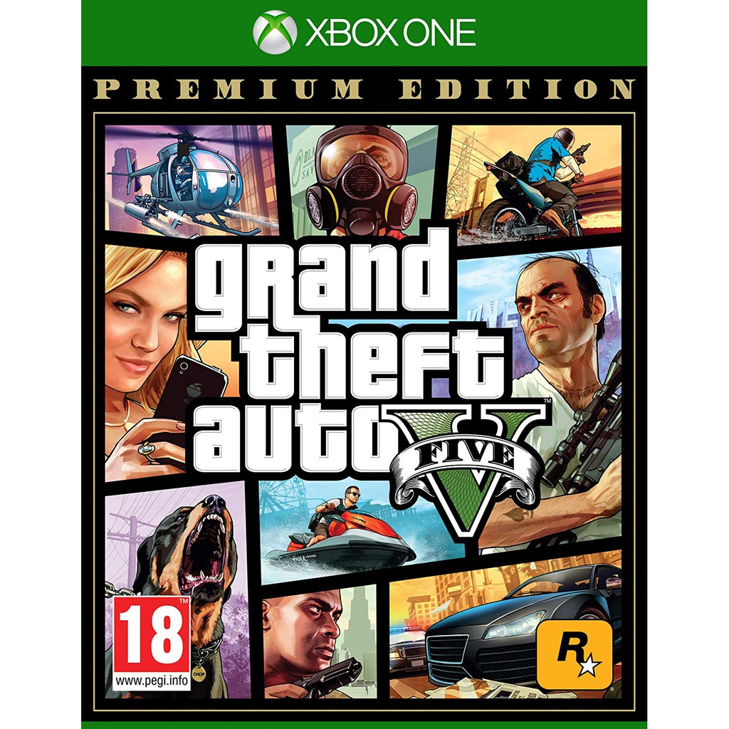 XBOX ONE GTA5 俠盜獵車手5 豪華版 中文版 Grand Theft Auto 5 全新未拆現貨 GTA 5