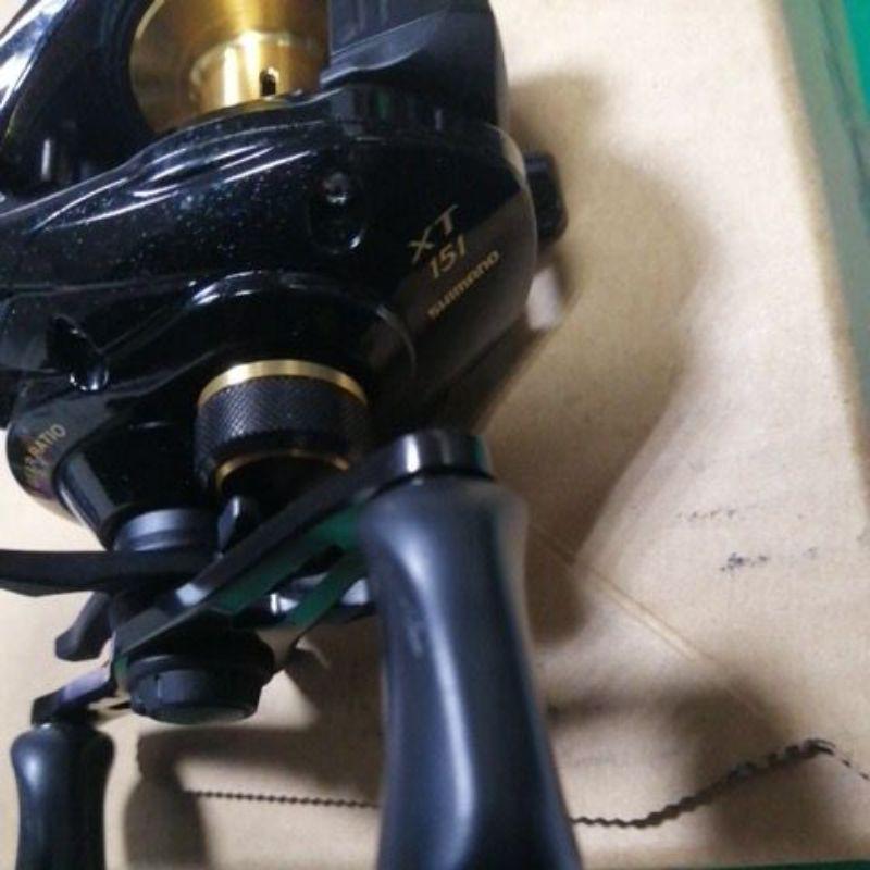 shimano XT 151左手捲 小烏龜捲線器